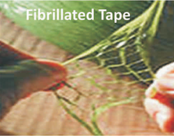 Fibrillated Tape